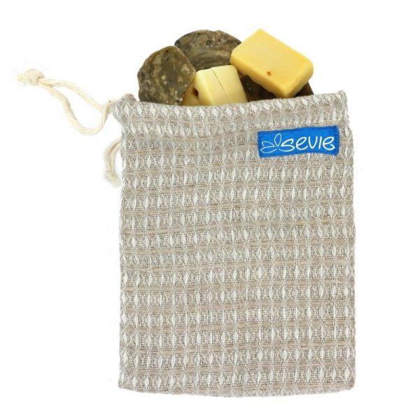 Seifensäckchen leer Reste