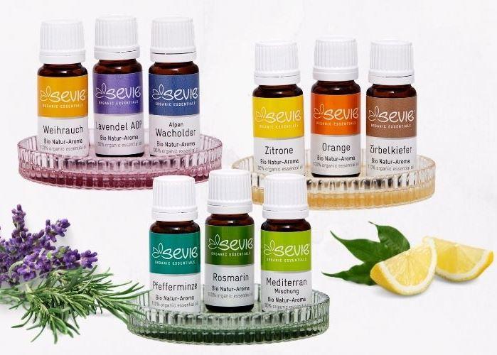 Ätherische Öle Natur Aroma Kollektion