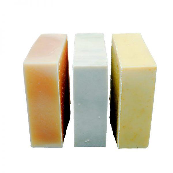 Drei bio Seife für deine Körperpflege