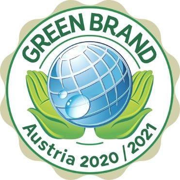 Ausgezeichnet Siegel Green Brand Austria
